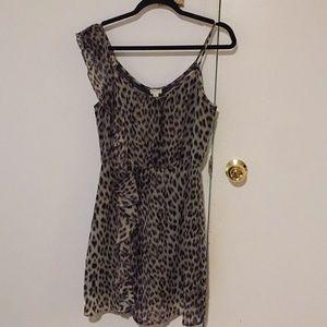 Dynamite Leopard Summer Dress